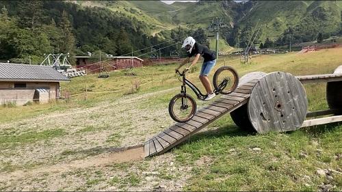 Fatscoot à la montagne