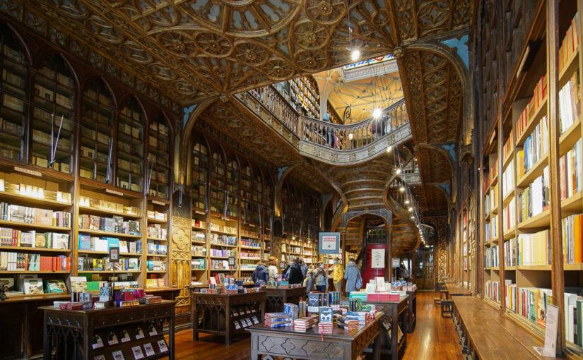 La librairie Lello, une belle découverte à Porto !